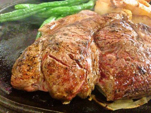 デンバーステーキが肉肉しい