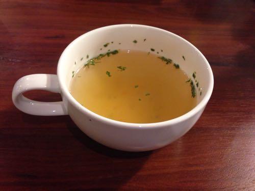 デンバーステーキセットのスープ