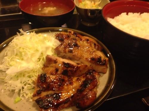 本日はきじ定食を食べてきました。