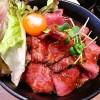 「伝説のすた丼屋 高田馬場店」で期間限定メニュー、極ローストビーフ丼を食べてきたよ。