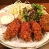 牡蠣居酒屋で食べるカキフライ定食!「牡蠣と魚 海宝 高田馬場店」