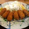 「築地食堂 源ちゃん 高田馬場店」のカキフライ定食はカキフライ6個と太っ腹!
